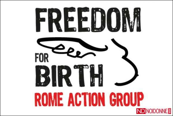 Foto: Partorire senza violenza: Freedom for Birth Rome Action Group